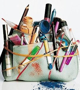 Messy-makeup-bag