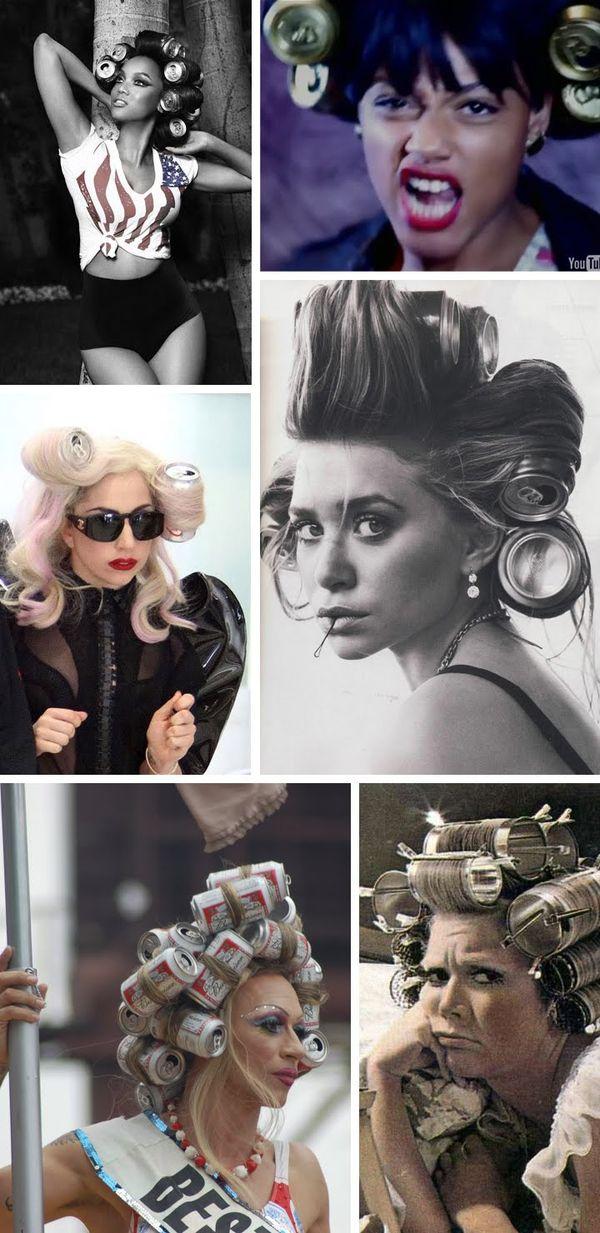 Do It Yourself Lady Gaga S Cuckoo Coke Can Hairstyle